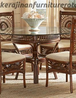 Set kursi tamu rotan klasik export furniture rotan elegan