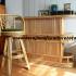 Set meja dan kursi bar rotan export modern furniture rotan minimalis
