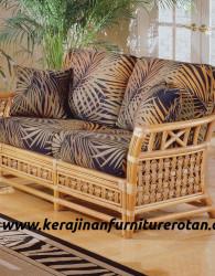 Sofa santai rotan vintege export furniture rotan minimalis