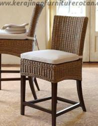Kursi makan rotan mini export furniture rotan minimalis