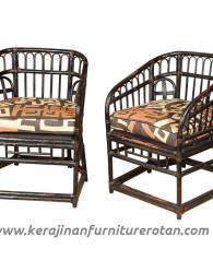 Kursi tamu rotan retro modern export furniture rotan minimalis