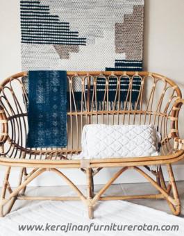 Sofa rotan klasik export furniture rotan elegan
