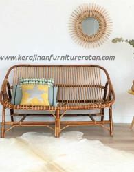 Sofa rotan klasik export furniture rotan modern elegan