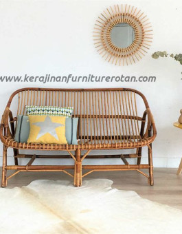 Sofa rotan klasik export furniture rotan modern elegan