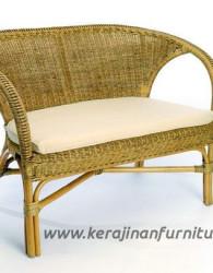 Sofa rotan minimalis kerang export furniture rotan modern