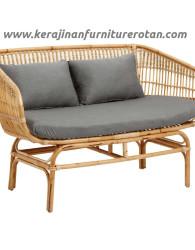 Sofa rotan natural export furniture rotan grey