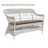 Sofa rotan klasik export furniture rotan silver