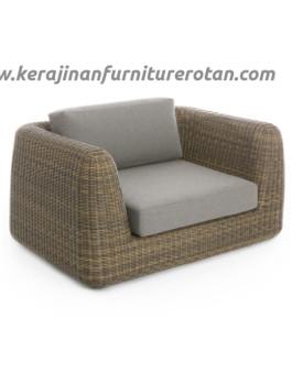 Sofa tamu rotan modern export furniture rotan elegan