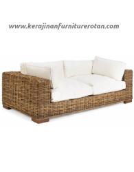 Sofa rotan kayu export furniture rotan minimalis modern