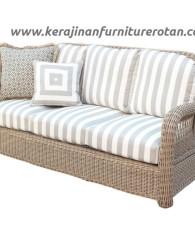 Sofa rotan modern export furniture rotan santai minimalis