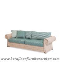 Furniture rotan export sofa rotan minimalis santai keluarga
